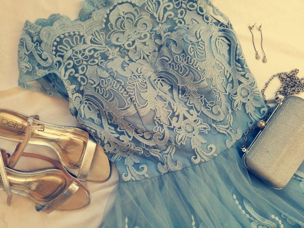 Strój na wesele, sukienka chi chi london