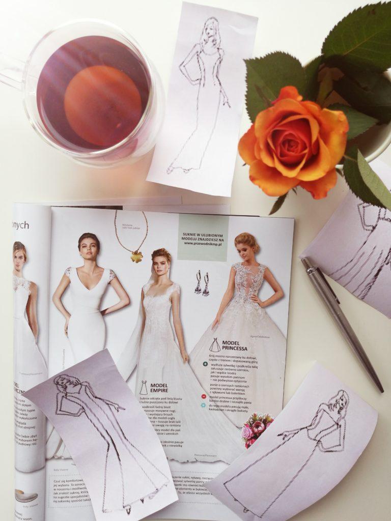 suknia ślubna, model empire