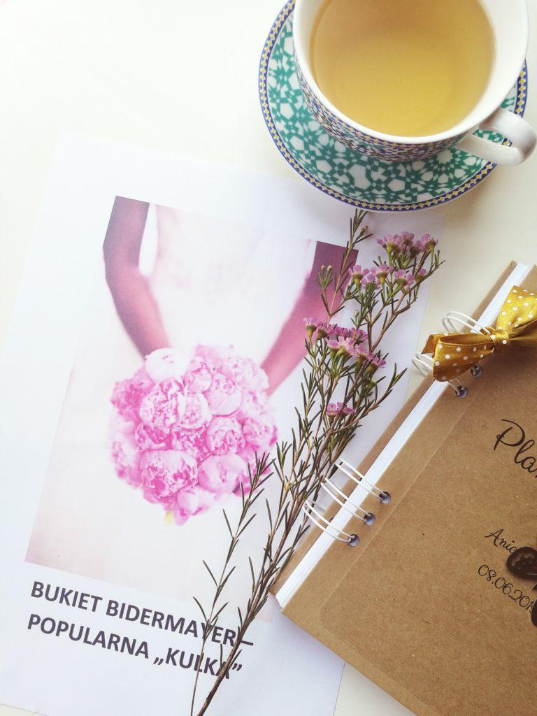 Bidemaier, bukiet ślubny