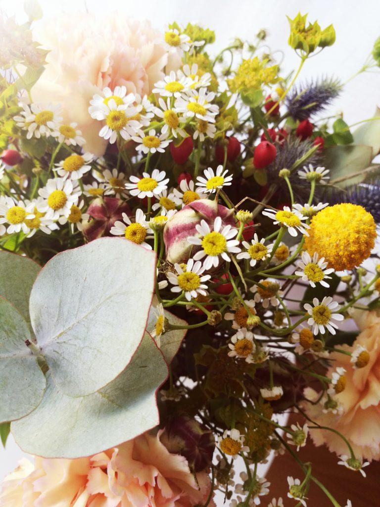 Kwiatowe, ślubne dekoracje